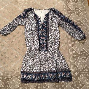 Joie long sleeve mini dress - size small